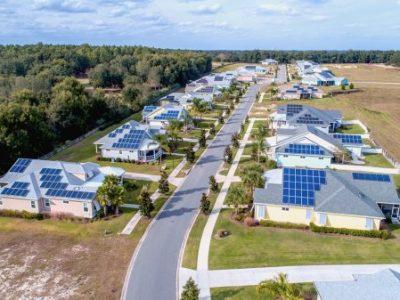 Solar-powered homes